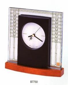 Bulova Glasner House Table Clock. h1Bulova Glasner House Table Clock_h1Bulova Glasner House Table Clock.This clock is part of our licensed Frank Lloyd Wright Collection. It reflects the poetry and beauty of the interior designs of Wright, one of the great.. . See More Table Clocks at http://www.ourgreatshop.com/Table-Clocks-C1125.aspx