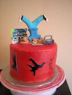 I want a cake just like this one for my birthday!