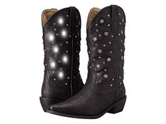 Maggie, oh my god if these don't scream Dolly Parton!!!  Best tacky western wear ever! - Roper Starlights