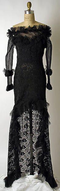Yves Saint Laurent, Paris   Evening dress   French   The Metropolitan Museum of Art 1987