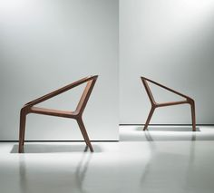 Shelly Shelly - Nurus Loft - Design: 2014 - Wooden easy chair with armrests