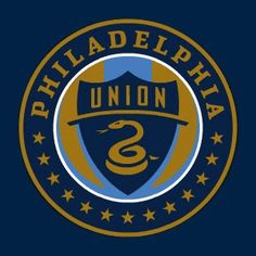Philadelphia Union Logo MLS Soccer). I think this is one of the best sports logos out there. While many logos go with a stylistic image or letterform which becomes iconic over time (example NY Yankees, Green Bay Packers). The Union logo represents the city's history through iconic imagery (13 stars, Join or Die Serpent, Union colors)