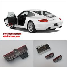 For Porsche Carrera4 Door Ghost Shadow Lights Car  Price: $19.21 Buy From AliExpress:http://5.gp/mMrc