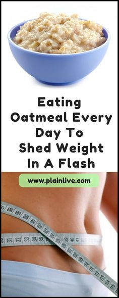 Eat oatmeal every morning to shed unwanted weight in a flash Low Glycemic Index Foods, Low Glycemic Diet, Good Food, Yummy Food, What You Eat, Creative Food, Lose Belly, Food Videos, Lose Weight