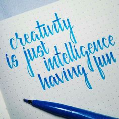 20 Trendy Craft Quotes Creativity Hand Lettering - New Ideas Hand Lettering Quotes, Calligraphy Quotes, Creative Lettering, Calligraphy Letters, Calligraphy Handwriting, Lettering Art, Handwriting Ideas, Calligraphy Doodles, Typography Fonts