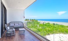 Beautiful ocean front condos located in Yucatan, Mexico. Canadian developer 🏖 #yucatan #mexico #diy #beach #aesthetic #design #balcony #oceanviews #realestate #beachhousedecor #blue #condo #interior Beachfront House, Beachfront Property, Beautiful Ocean, Beautiful Beaches, Beach Village, Ocean Front Property, Living In Mexico, Beach Properties, Rooftop Terrace