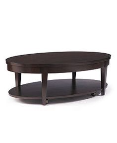 Glamour Table, Oval Cocktail Table   Coffee, Console U0026 End Tables    Furniture   Macyu0027s