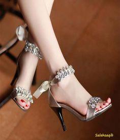 New bridal fancy high heel Shoes