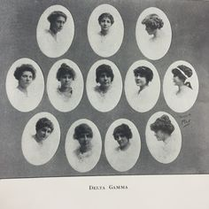 Delta Gamma Sorority-The TEL-BUCH Yearbook 1914