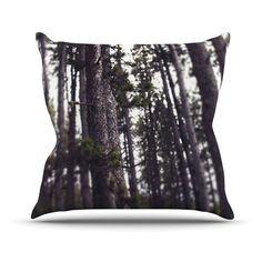 Kess InHouse Leah Flores Woods Forest Outdoor Throw Pillow - LF1003AOP0