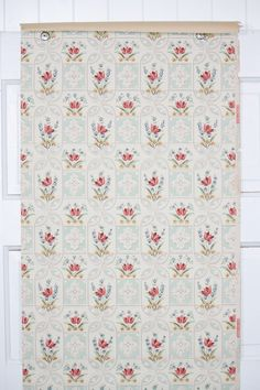 1930s vintage wallpaper for sale by the yard in our etsy store. Wallpaper For Sale, Antique Wallpaper, Red Tulips, Different Patterns, Vintage Floral, Mint Green, 1930s, Etsy Store, Yard