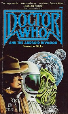 Doctor Who Paperback, Doctor Who and the Android Invasion by Terrance Dicks, Pinnacle Books, First Printing, January 1980.