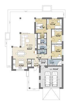 Miriam VI House Outside Design, Wood Lamps, Modern House Design, Future House, Home Goods, House Plans, Sweet Home, Floor Plans, Flooring