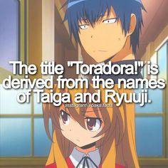 Anime: Toradora