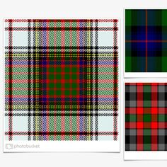 284df458a6e A basic listing of Clan Tartans in color