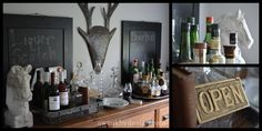 The Bar | swankbydesign.com #swankbydesign #thebar #bar #lakeliving