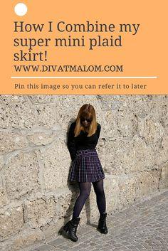 Plaid Skirts, Lifestyle, Mini, Fashion Tips, Image, Fashion Hacks, Kilts, Fashion Advice