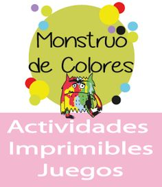 Actividades Monstruo de Colores Hands On Activities, Educational Activities, Preschool Activities, Spanish Teaching Resources, Feelings And Emotions, Yoga For Kids, English Lessons, Pre School, Homeschool
