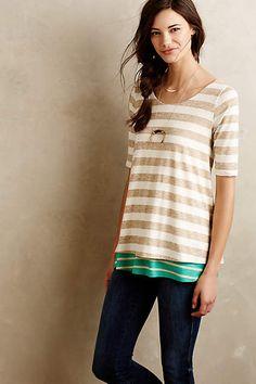 Stripe Mix Tunic - anthropologie.com #puella