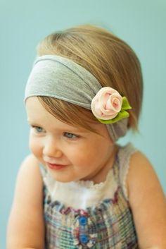 Vintage Flower headband from Vindie Baby