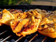 Supermalse kerrie kip voor de BBQ   Puur Eten