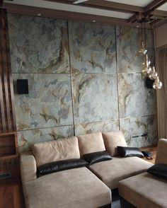 Slate Stone, Stone Tiles, Black Backsplash, Stone Veneer, Wall Cladding, Manish, Kobe, Flexibility, Concrete