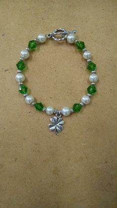 Bring yourself a little extra luck with this sweet St. Patrick's Day bracelet!