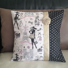 Sew Pillow интерьер прованс декор: 24 тыс - This Pin was discovered by Bri Sewing Pillows, Diy Pillows, Decorative Pillows, Cushions, Throw Pillows, Patchwork Cushion, Quilted Pillow, Cushion Covers, Pillow Covers