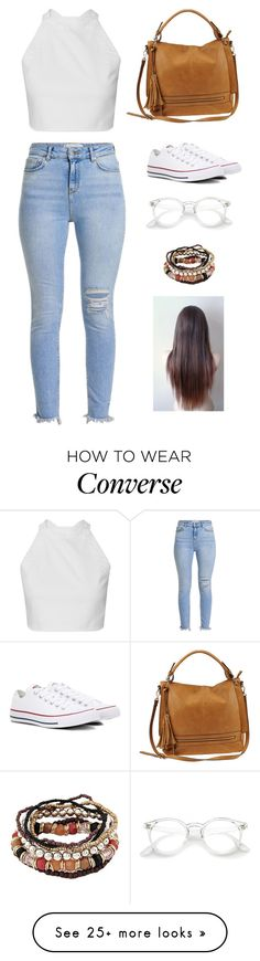 """Untitled #4103"" by twerkinonmaz on Polyvore featuring Urban Expressions and Converse"