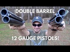 Diablo 12 Gauge Pistols, Nickel and Blued Finish Collectors Set with Rosewood Finish Grips Weapons Guns, Guns And Ammo, Home Defense Shotgun, Derringer Pistol, Survival Rifle, Tactical Shotgun, Double Barrel, Custom Guns, Camping Life