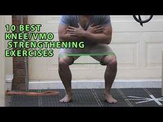 10 BEST KNEE/VMO STRENGTHENING EXERCISES - YouTube