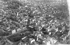 Vista parcial de Buenos Aires - Plaza de Mayo (c. 1925)   Foto de Juan Bautista Borra y Enrique Broszeit – Colección Familia Borra   Historia y Arqueologia Marítima