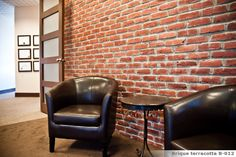 BRIQUE TERRACOTTA Terracotta, Chair, Furniture, Design, Home Decor, Walls, Terra Cotta, Homemade Home Decor