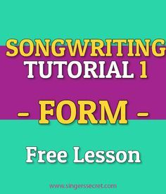 Learn how to write a song with this FREE songwriting tutorial…