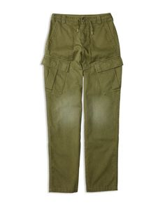 Ralph Lauren Childrenswear Boys' Herringbone Twill Slim Cargo Pants - Sizes 8-20