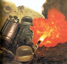 1916 Verdun, Flammenwerfer - Vincent Segrelles