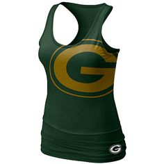 When the weather's as hot as it is today, all you want to do is cool off and think about #Packers football just months away. We like to think of this top as an elegant solution to both.