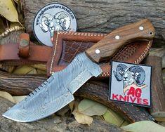 AG Knives Store - AG Handmade Damascus Blade Tracker Knife