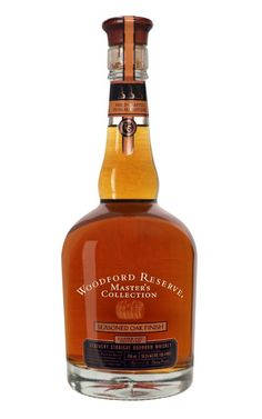 Woodford Reserve Master's Collection Seasoned Oak Finish Straight Kentucky Bourbon Whiskey - Photo Courtesy of: © Woodford Reserve Bourbon Whiskey Bourbon Whiskey, Scotch Whisky, Bourbon Drinks, Cigars And Whiskey, Whiskey Bottle, Whiskey Girl, The Distillers, Woodford Reserve, Whiskey Brands