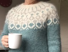 Knitting sweaters for women ravelry 22 Ideas - Knitting Projects Sweater Knitting Patterns, Knitting Designs, Knit Patterns, Knitting Projects, Knitting Sweaters, Knitting Ideas, Fair Isle Knitting, Hand Knitting, Icelandic Sweaters