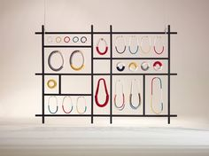 Eleanor Bolton Display. Abstracta Modular Display system can be used to make a…