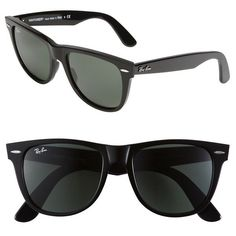 400bafe61f89d Ray-Ban  Classic Wayfarer  50mm Sunglasses ( 155) ❤ liked on Polyvore