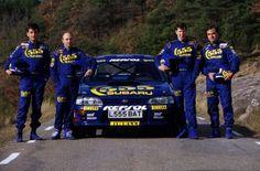 Subaru 555 WRC 1995 Piloti : Mc Rae e Sainz