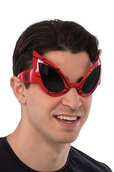 9a587b482f DC Comics Spider-Man Costume Goggles Adult One Size