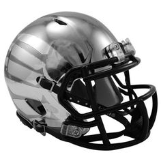 No. 1 - Riddell Oregon Ducks 2012 Rose Bowl Game Black LiquidMetal Speed Mini Helmet