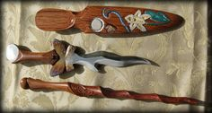 Butterfly Custom Athame by Brendan Olszowy Fable Blades Australia