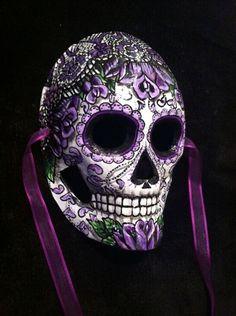 Skull Artwork, Skull Painting, Candy Skulls, Sugar Skulls, Crane, Emo Scene Hair, Punisher Skull, Sugar Skull Design, Day Of The Dead Skull