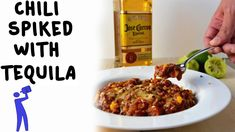 Chili Spiked with Tequila - Tipsy Bartender