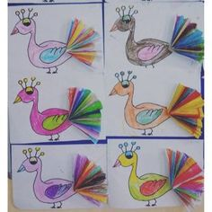 16 Best Peacock Craft Idea For Kids Images