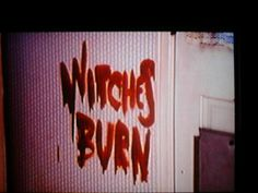 When Witches Don't Fight We Burn